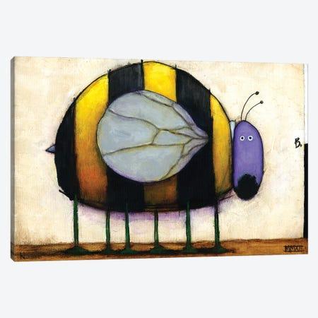 Bee Canvas Print #DKS53} by Daniel Patrick Kessler Canvas Wall Art