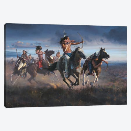 Battlefront Canvas Print #DKU11} by David Edward Kucera Canvas Art