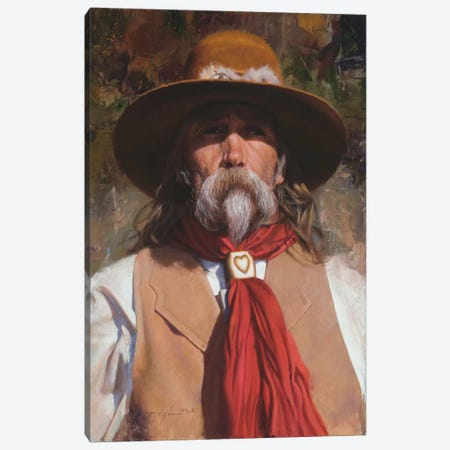 Brim Shadey Canvas Print #DKU15} by David Edward Kucera Canvas Print