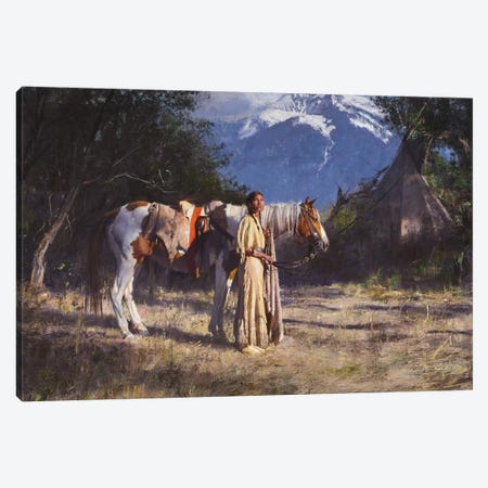 Companions Canvas Print #DKU21} by David Edward Kucera Canvas Art Print