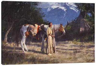 Companions Canvas Art Print