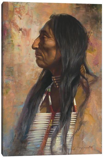 Dakota Native Canvas Art Print