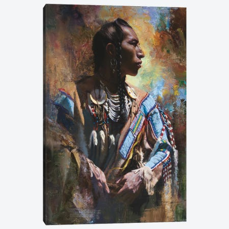 Decorated Canvas Print #DKU25} by David Edward Kucera Canvas Artwork
