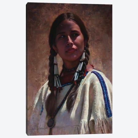 Eyes That Speak Canvas Print #DKU28} by David Edward Kucera Canvas Art Print