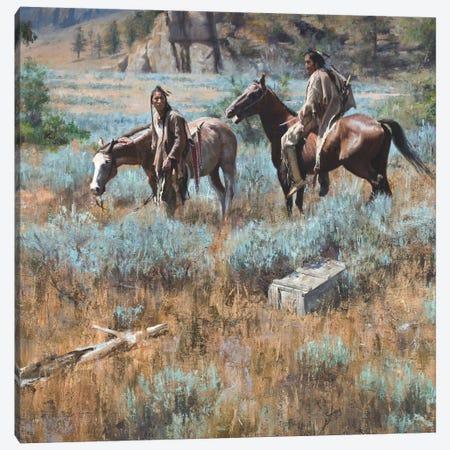 Finders Keepers Canvas Print #DKU30} by David Edward Kucera Canvas Wall Art