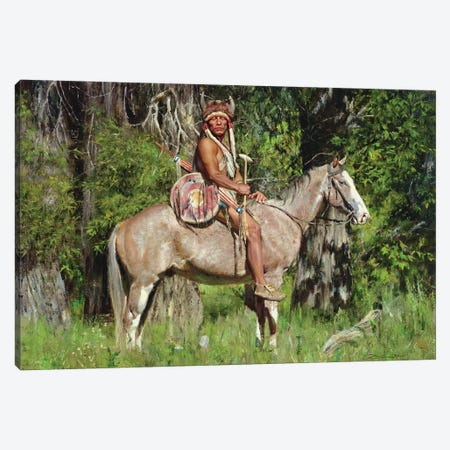 Guardian Canvas Print #DKU32} by David Edward Kucera Canvas Artwork