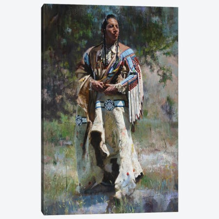 His Stately Attire Canvas Print #DKU37} by David Edward Kucera Canvas Print