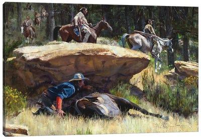 Hold Steady Redo Canvas Art Print
