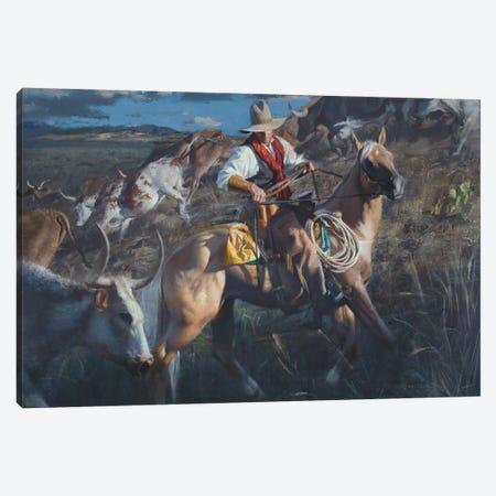 In The Thick Of It Canvas Print #DKU39} by David Edward Kucera Canvas Wall Art