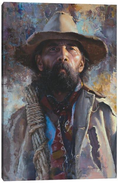Journey Man Canvas Art Print