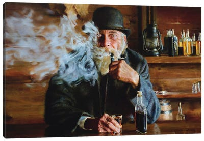Mildly Sophisticated Canvas Art Print