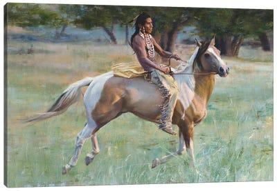 New Pony Canvas Art Print