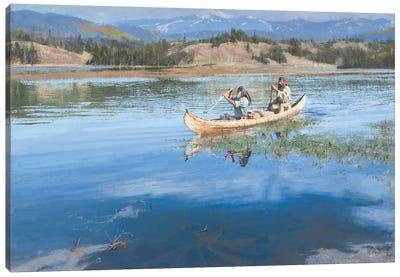 A Suitable Means Of Travel Canvas Art Print