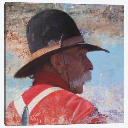 A Wranglers' Shade Canvas Print #DKU5} by David Edward Kucera Canvas Artwork