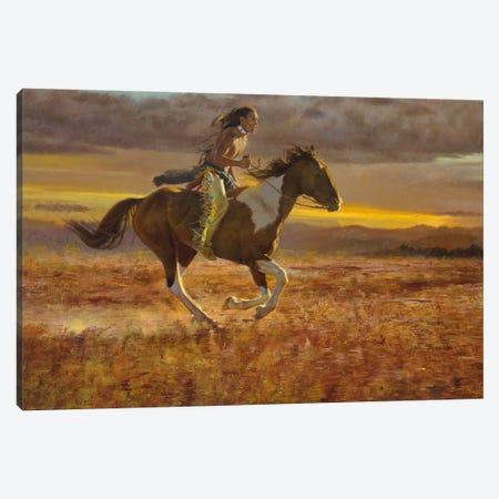 Racing the Sun Canvas Print #DKU60} by David Edward Kucera Canvas Print