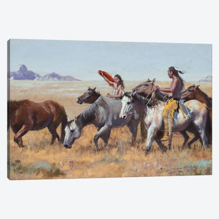 Acquisitions Canvas Print #DKU6} by David Edward Kucera Canvas Artwork