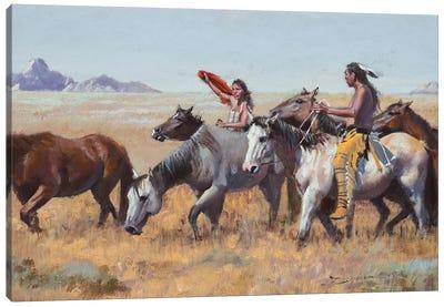 Acquisitions Canvas Art Print