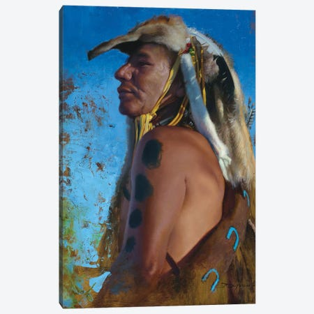 Sioux Garrison Canvas Print #DKU71} by David Edward Kucera Canvas Artwork
