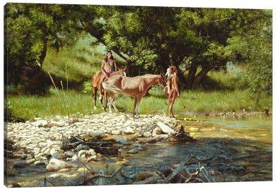 Streamers Canvas Art Print