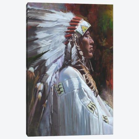 The Dignified Canvas Print #DKU79} by David Edward Kucera Canvas Art