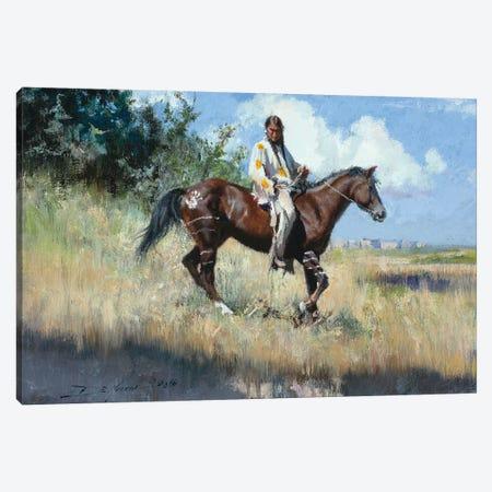 The Edge Of The Badlands Canvas Print #DKU81} by David Edward Kucera Canvas Print