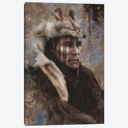 Winter Scout Canvas Print #DKU90} by David Edward Kucera Canvas Art