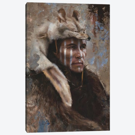 Winter Scout Canvas Print #DKU90} by David Edward Kucera Canvas Art