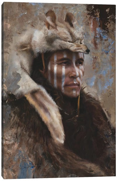 Winter Scout Canvas Art Print