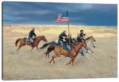 Rag Tag Regiment Canvas Art Print