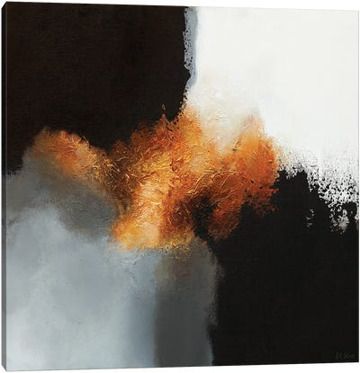 Gold & Black I Canvas Art Print