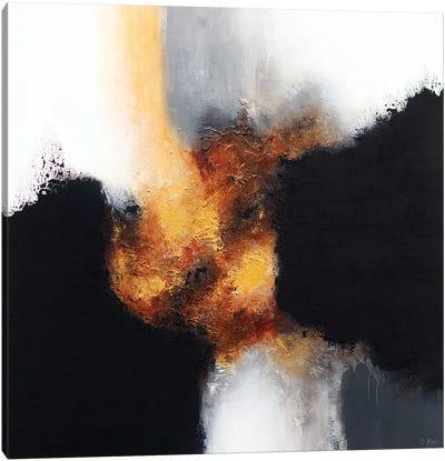 Gold & Black XII Canvas Art Print