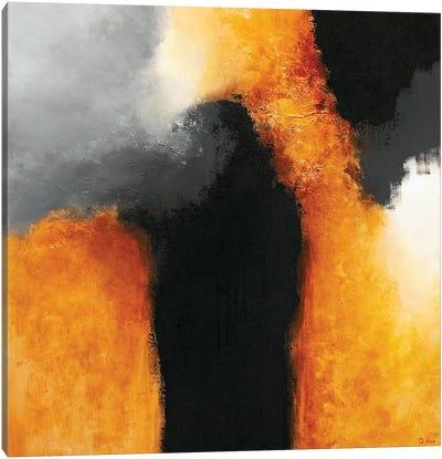 Gold & Black XIII Canvas Art Print