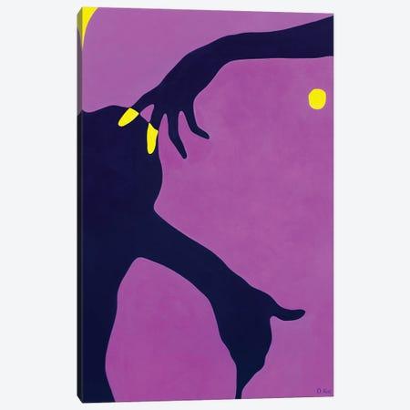Night Shyness Canvas Print #DKZ22} by Daniel Kozeletckiy Canvas Art