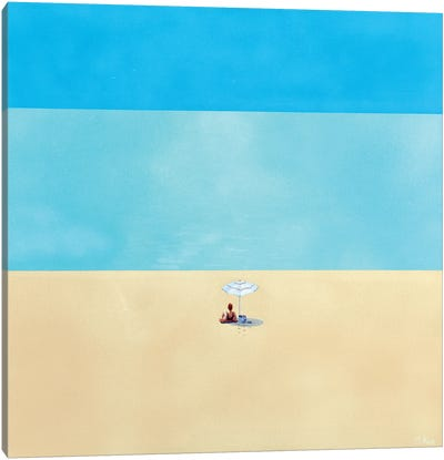 Dream Of Summer IV Canvas Art Print