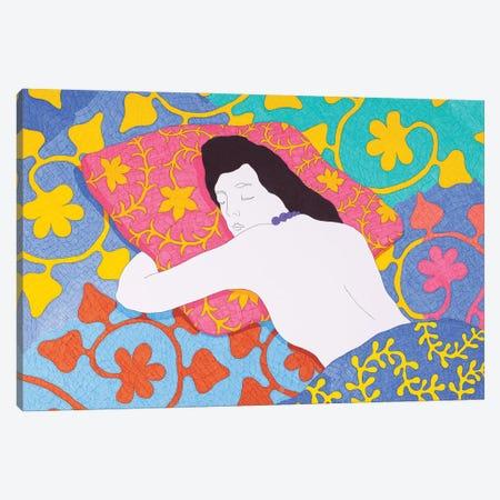 Sleeping On A Pillow Canvas Print #DKZ37} by Daniel Kozeletckiy Canvas Artwork