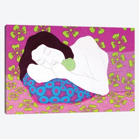 Sleeping On The Bright Canvas Print #DKZ39} by Daniel Kozeletckiy Art Print