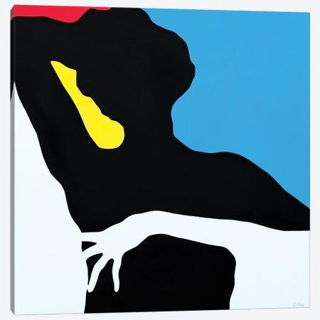Antique Mondrian Canvas Print #DKZ55} by Daniel Kozeletckiy Canvas Art
