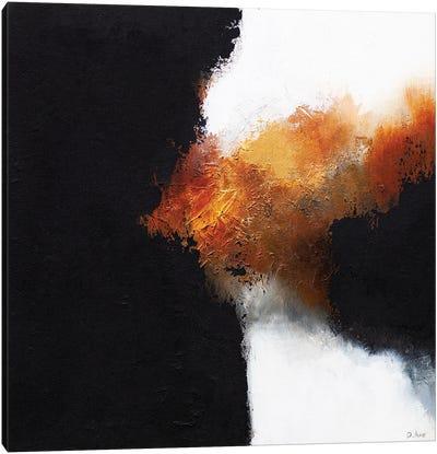 Gold & Black II Canvas Art Print
