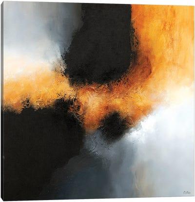 Gold & Black IV Canvas Art Print