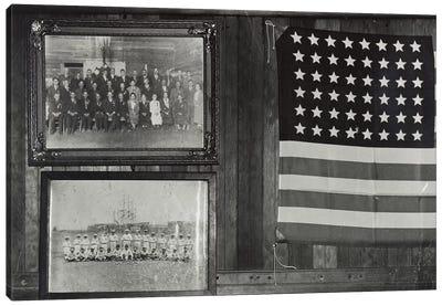 Interior View, Japanese-American Citizens League Headquarters, Centerville, California, USA Canvas Print #DLA4