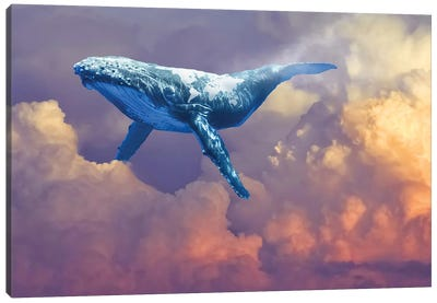 World Whale Watching Canvas Art Print
