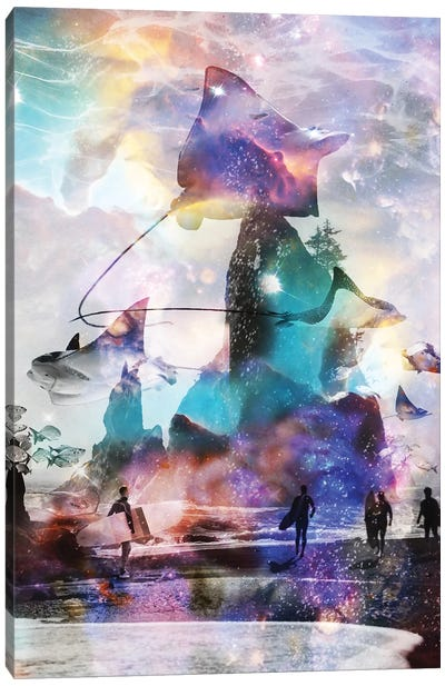 Tripping Out At Rays Point Canvas Art Print