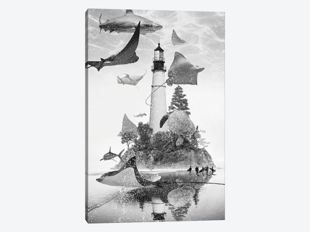 Mantaray Island by David Loblaw 1-piece Art Print