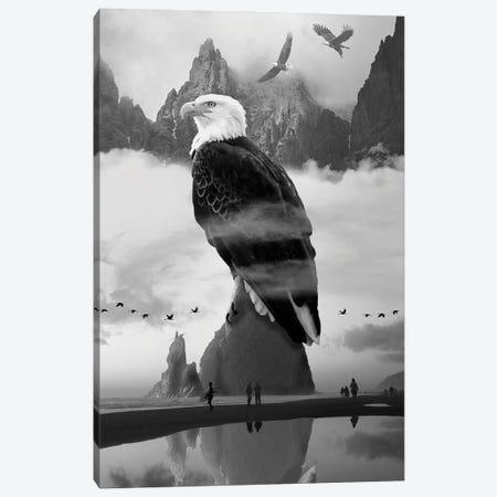 Eagles Point Canvas Print #DLB109} by David Loblaw Canvas Wall Art