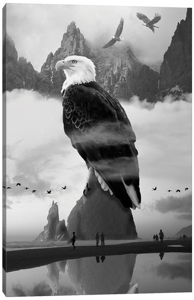 Eagles Point Canvas Art Print