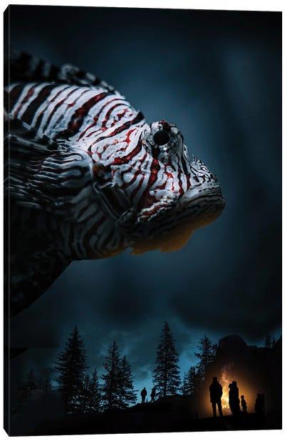 Night Krowler Canvas Art Print
