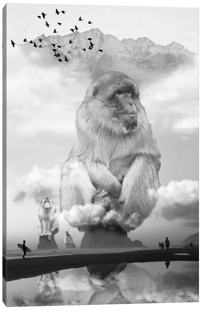 Monkey Sea Monkey Do Canvas Art Print