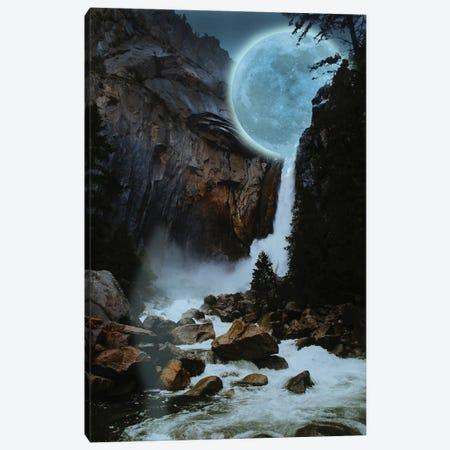 Moon Light Fall Canvas Print #DLB18} by David Loblaw Canvas Art