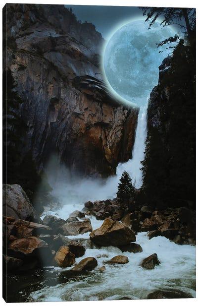 Moon Light Fall Canvas Art Print