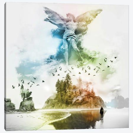 Angel In The Mist Canvas Print #DLB22} by David Loblaw Canvas Print